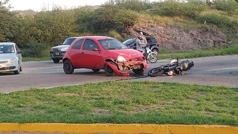 DOS ACCIDENTES EN UN DÍA EN POLCOS