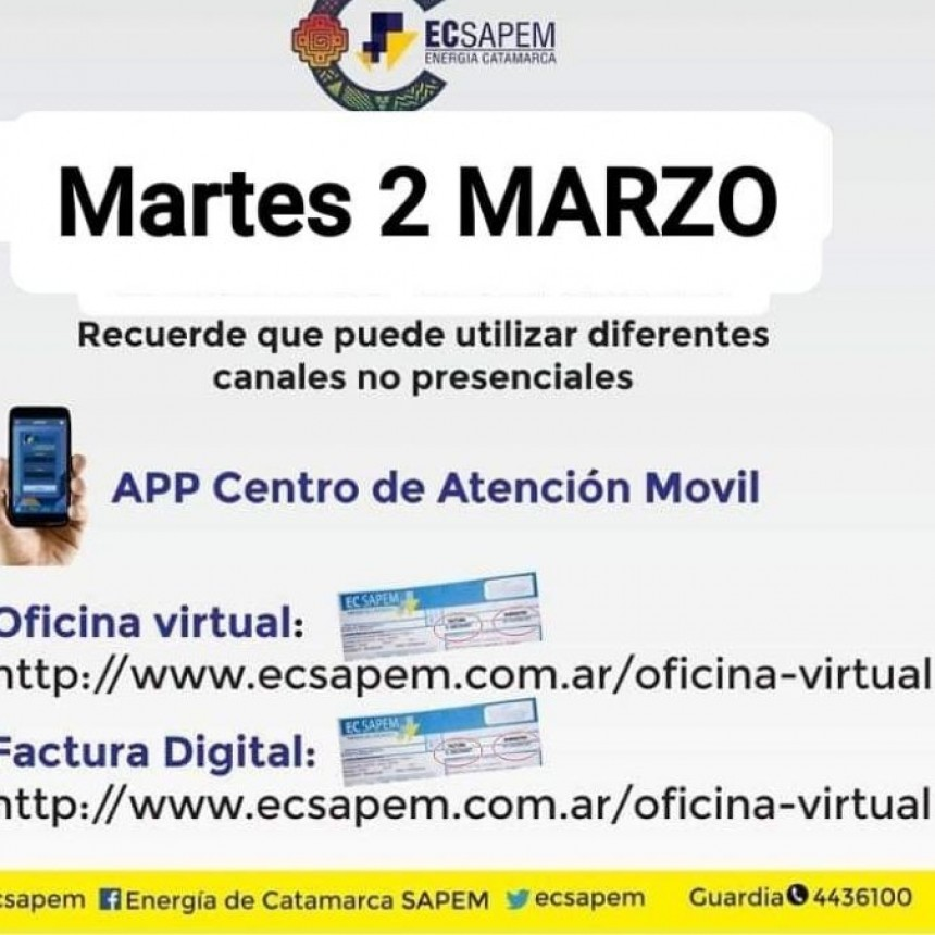 ALGUNOS ORGANISMOS DE LA CAPITAL NO ATENDERAN HOY