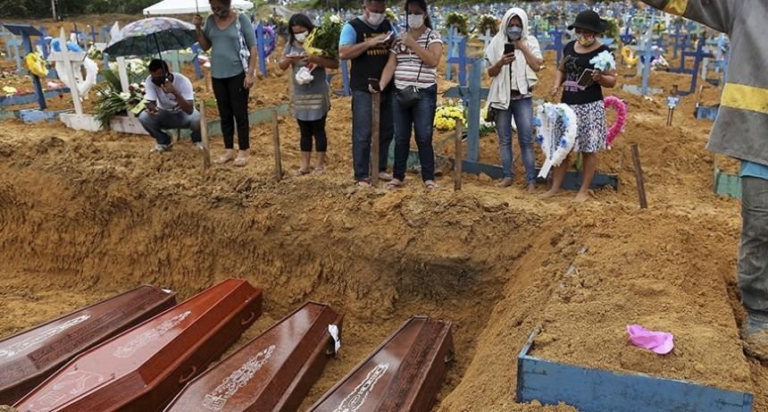 BRASIL: MAS DE 2200 MUERTES EN UN DIA
