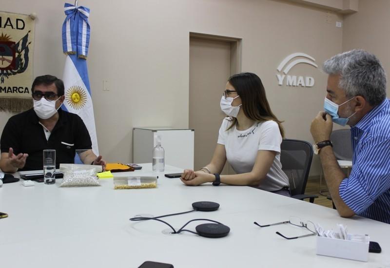 YMAD presentó resultados de la prueba piloto de refinación de metales