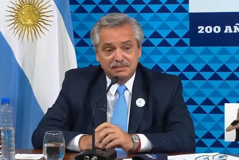 ALBERTO FERNANDEZ SE CONTAGIO DE LA VARIANTE ANDINA