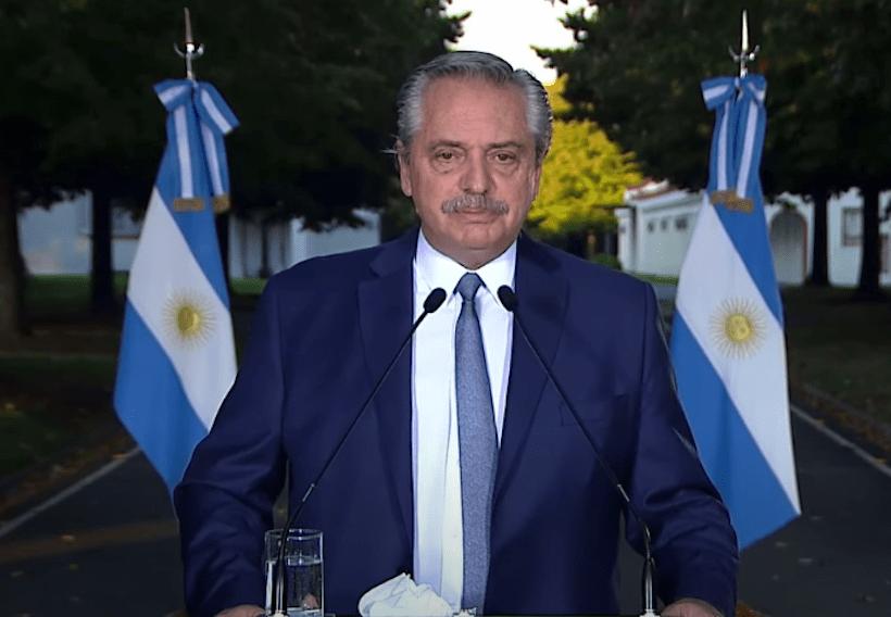 ALBERTO FERNANDEZ EXTENDIÓ LAS RESTRICCIONES