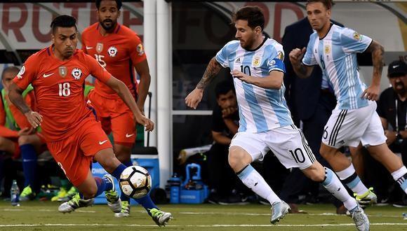 ARGENTINA VS CHILE, HORARIO, TV Y FORMACIONES