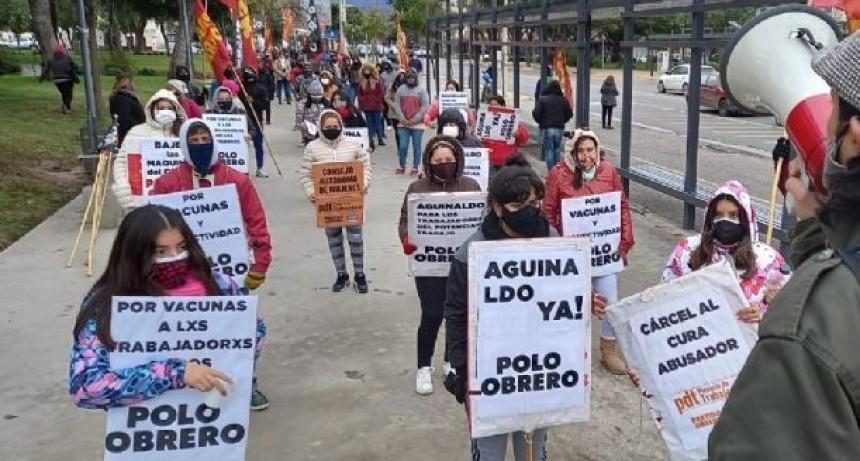PROTESTAS EN PEDIDO DE MEJORA SALARIAL