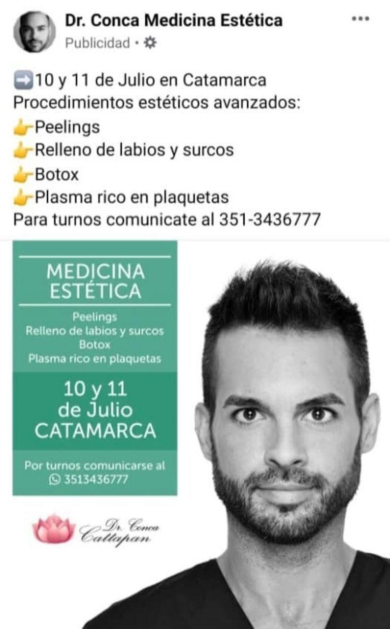 MEDICO TRUCHO FUE DENUNCIADO