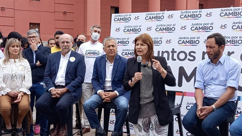 PATRICIA BULLRICH Y CORNEJO VISITARON CATAMARCA