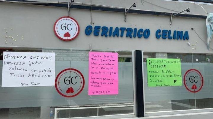 DOS ABUELOS DEL GERIÁTRICO CELINA FUERON INTERNADOS