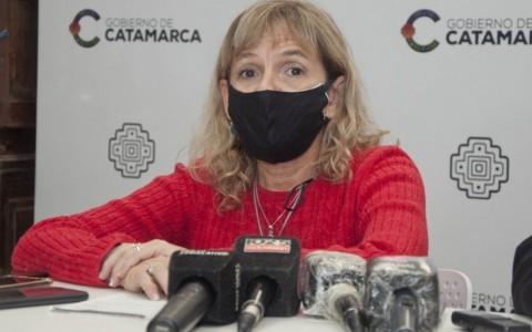 LA MINISTRA DE SALUD SUPERO EL COVID-19