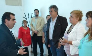 Fernando Jalil recorrió Diputados