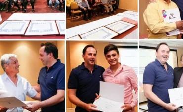 Deportistas catamarqueños premiados por el Senado de la Nación