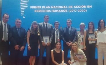 Presentación del 1º Plan Nacional de Acción en Derechos Humanos