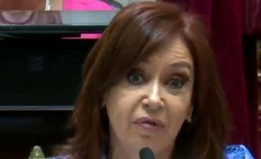 Primer discurso de CFK en el Senado: críticas a Bonadio y al pedido de desafuero