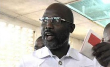 La estrella del fútbol que llegó a presidente de Liberia