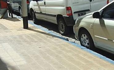 Estacionamiento ordenado en la Capital con aumento